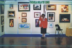 ARTERIA 2005 - Exposición de cuadros de alumnas de Mila tocino