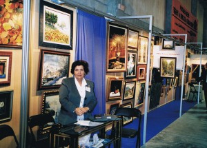Exposición de Obras de Mila Tocino en ARTERIA-2005