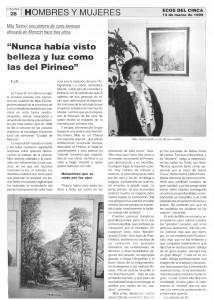 Ecos del Cinca (Marzo de 1999)